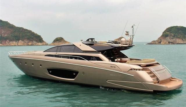 Riva 86 Domino Charter Yacht