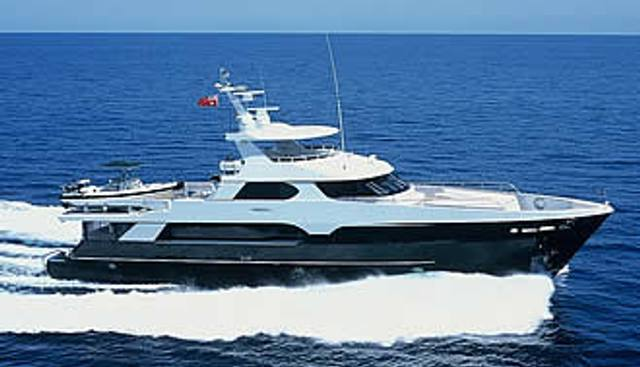 Flying Manta Charter Yacht