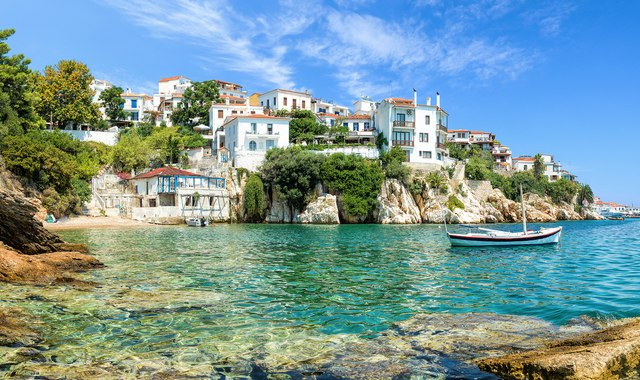 A Social Distancing Yacht Charter in Greece: One week around the Sporades Islands