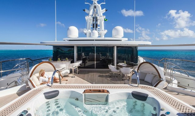 M/Y 'Grace E' Opens for America's Cup Charter