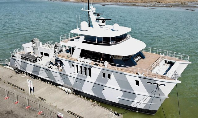 Video: M/Y 'The Beast' hits the water in New Zealand