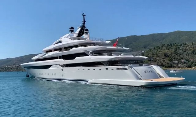 Video: 95m Greek superyacht O'PARI completed and ready for 2020 Greece Charters
