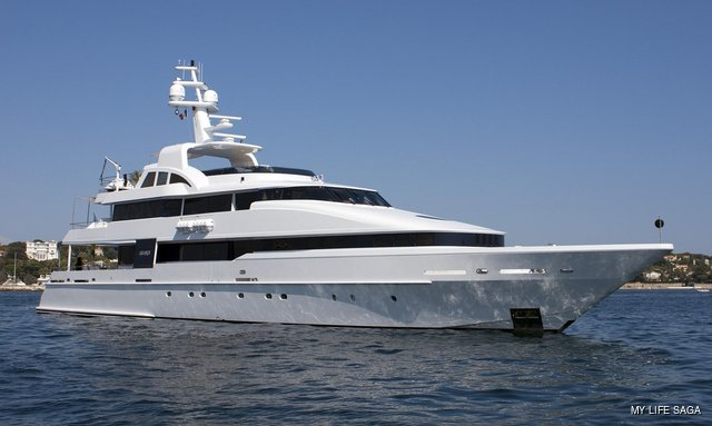 Brand new to the fleet: LIFE SAGA now available for charter