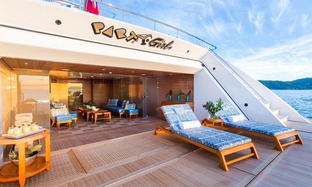 Escape to Tahiti On Board Icon M/Y 'Party Girl'