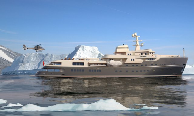 Expedition Yacht LEGEND Offers Adventure Charters