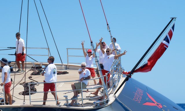 Charter yachts storm to victory at 2019 St Barths Bucket Regatta