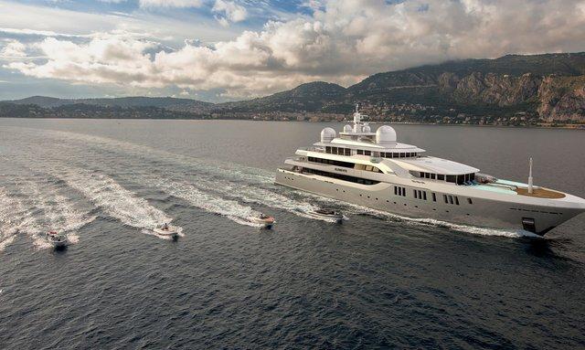 80m superyacht ELEMENTS joins the charter fleet