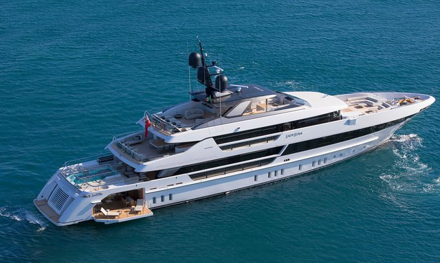 52m charter yacht 'Lady Lena' delivered