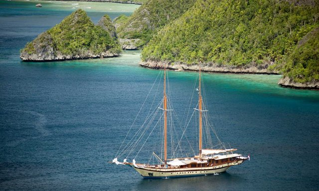 S/Y LAMIMA Available in the Raja Ampat Islands