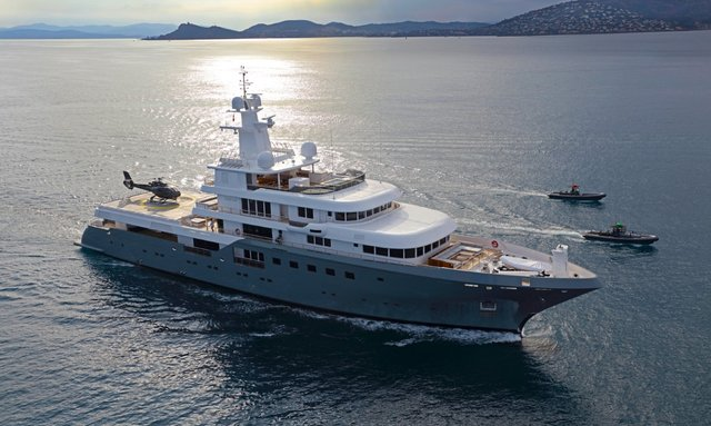 M/Y 'Planet Nine' opens for Antarctica charters