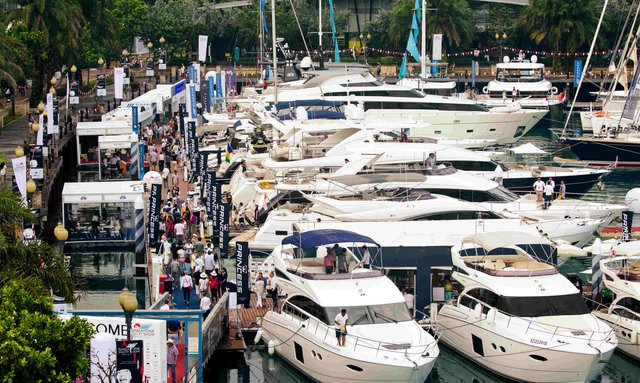 Doors Open at the Singapore Yacht Show 2017