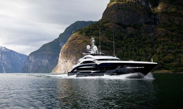 50m M/Y 'Lady Li' now available for crewed Caribbean yacht charters
