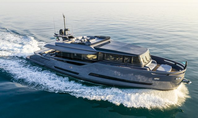 New motor yacht HAZE joins Mediterranean charter fleet