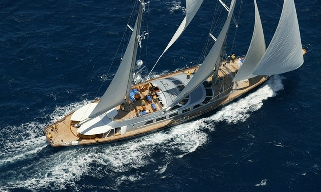Sailing Yacht 'Andromeda la Dea' Offering Charters in Antigua