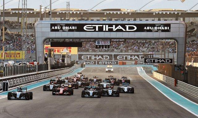 Build-Up For Abu Dhabi Grand Prix 2017 Begins