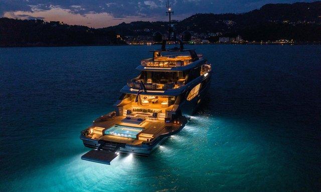 Brand new Benetti yacht REBECA joins the charter fleet