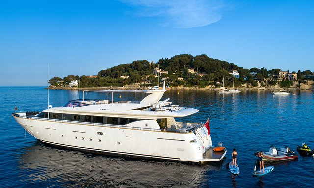 Last-minute availability for Mediterranean yacht charter with 29m motor yacht TALILA