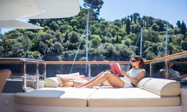 43m superyacht DIANE announces last-minute Ibiza yacht charter special