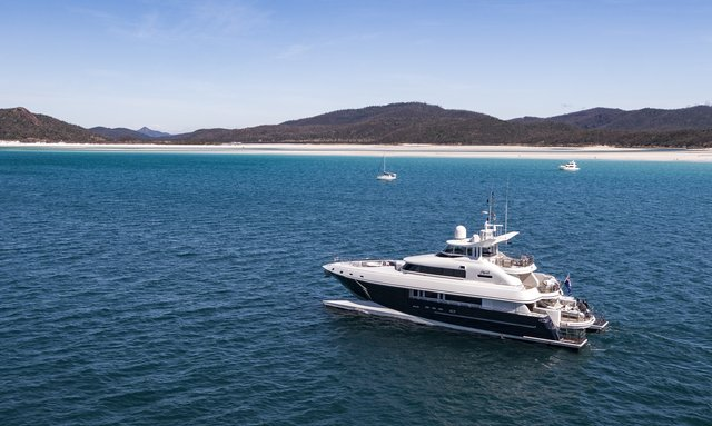 M/Y SPIRIT offers New Year's Eve charter in the Whitsundays