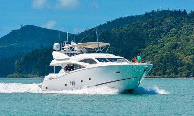 M/Y ALANI Cruises the Whitsunday Islands