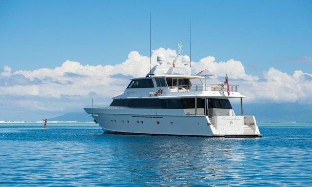 M/Y DREAMTIME Joins Australian Charter Fleet