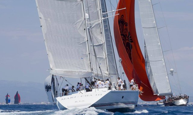 Video: Thrilling finale at the Superyacht Cup Palma 2018