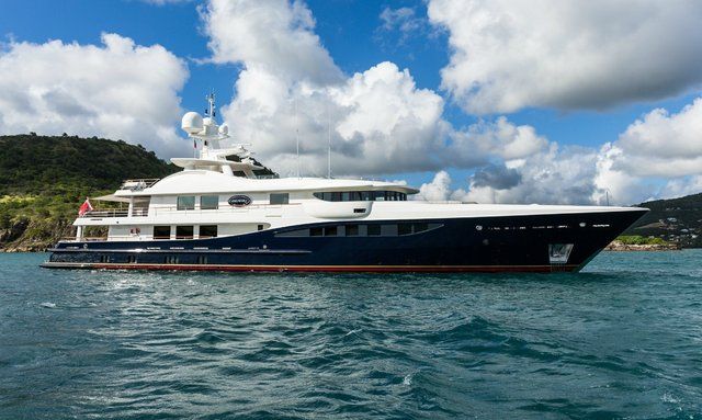 M/Y DENIKI embarks on two-year global expedition