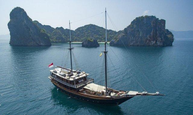 Video: Charter Yacht 'Dunia Baru' In Myanmar