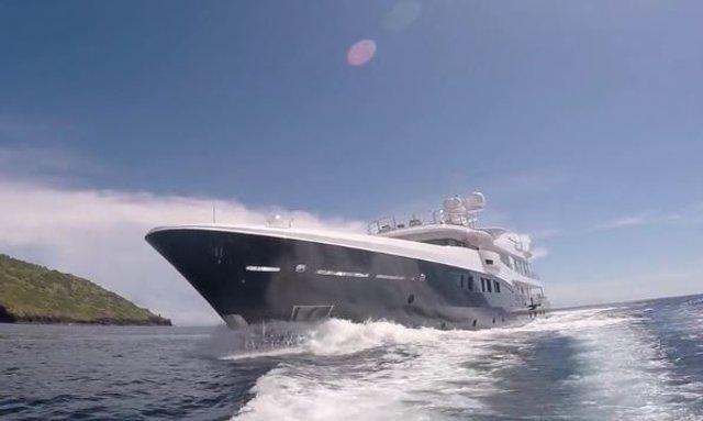 VIDEO: M/Y 'La Familia' Cruising Around The Komodo Island