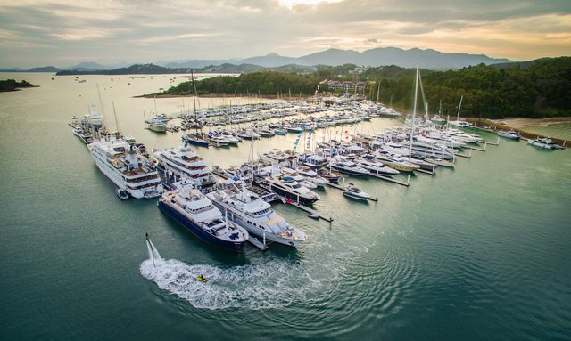 Yachts gather for Thailand Yacht Show & Rendezvous