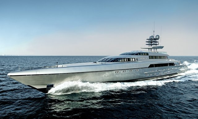 Charter M/Y 'Silver Fast' At The Abu Dhabi Grand Prix