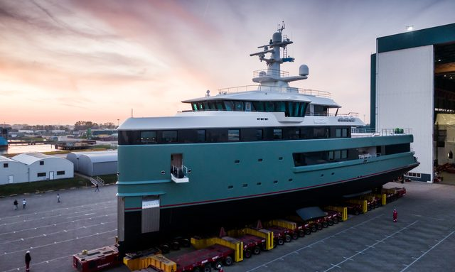 Damen's first 62m SeaXplorer expedition yacht launched