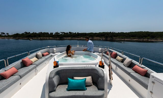 Mediterranean yacht charter special: save with M/Y DXB