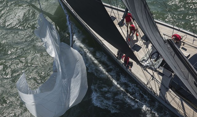 Yachts Prepare for America's Cup Superyacht Regatta