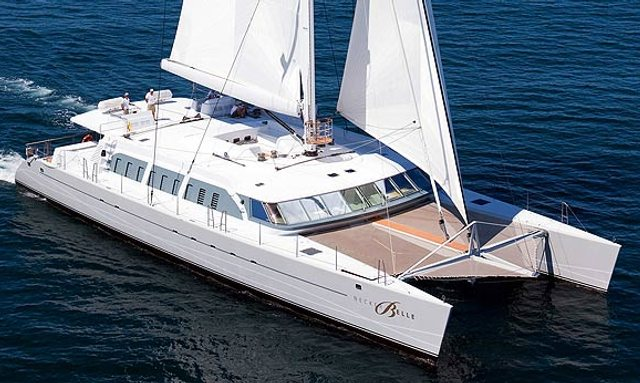 32 Metre Sailing Yacht Necker Belle For Charter