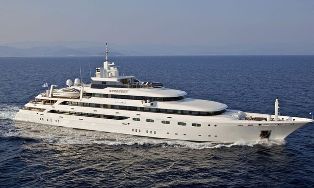 M/Y O'MEGA set to attend Antigua Charter Show 2018