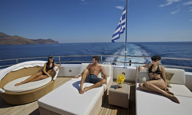 10 Top Greek Flagged Charter Yachts