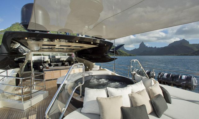 Celebrate Thanksgiving on board M/Y VANTAGE in the Bahamas