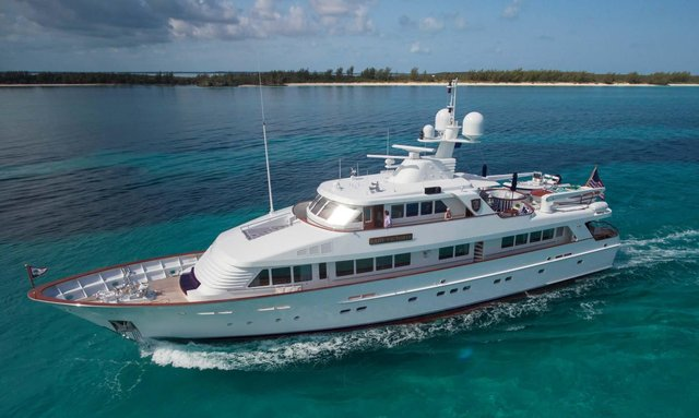Last-minute Bahamas charter special with Feadship M/Y 'Lady Victoria'