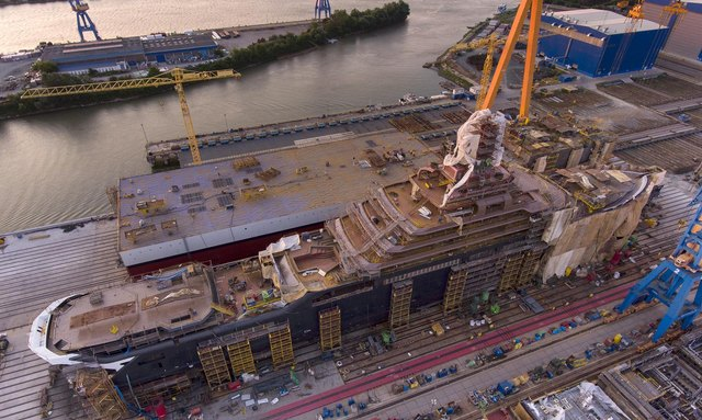 REV: World's largest explorer superyacht preparing for technical launch