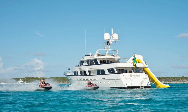 M/Y SUNSHINE has Charter Gap in Virgin Islands