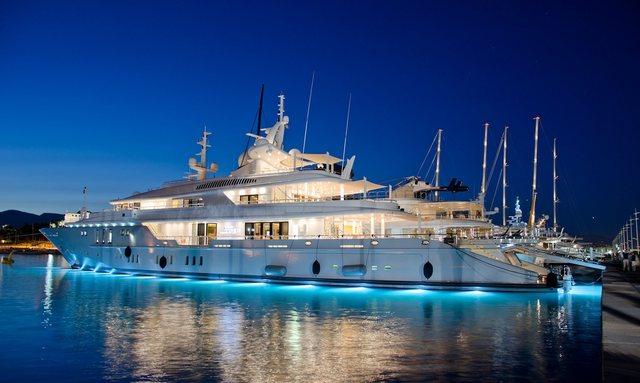 New Year's in St Bart's on board Superyacht SIREN