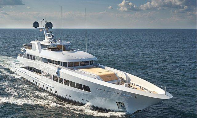 Feadship superyacht ROCK.IT joins charter fleet