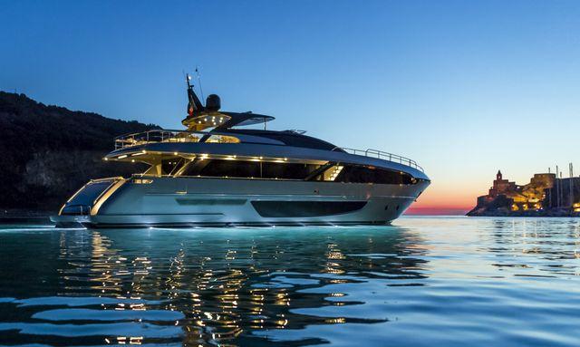 riva 100 corsaro yacht model