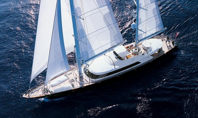 S/Y SILENCIO at the Antigua Charter Show