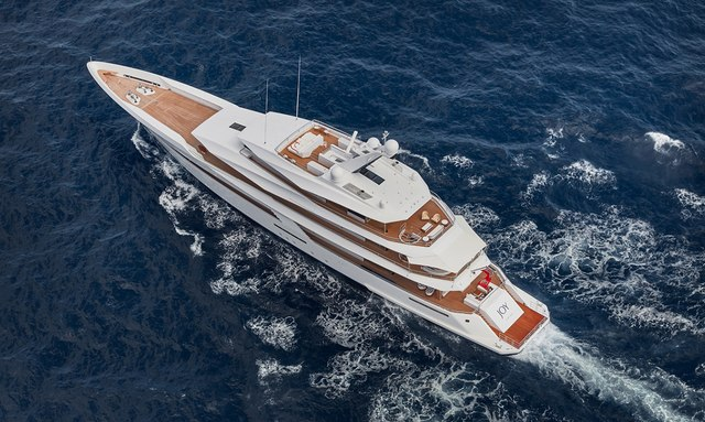 Feadship M/Y JOY now available for Caribbean yacht charter