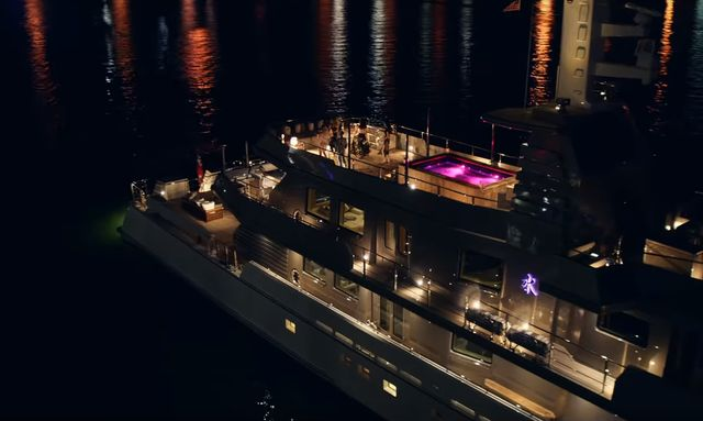 M/Y MIZU stars in Taylor Swift's 'End Game' music video