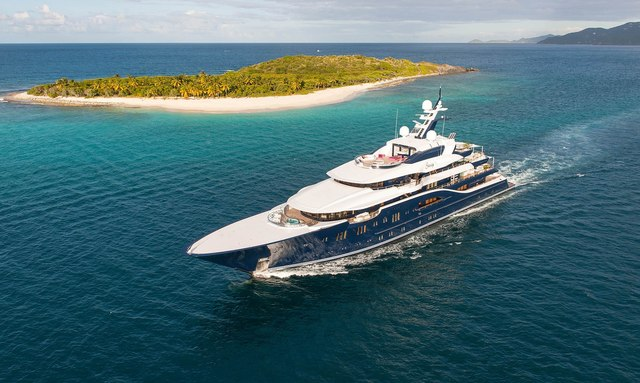 A Winter Caribbean Charter Itinerary on Superyacht SOLANDGE
