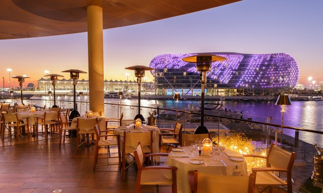Where to eat in Yas Marina