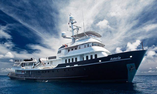 Charter Yacht ASTERIA in Antarctica